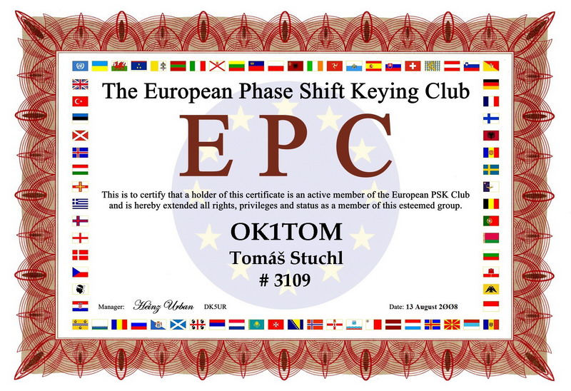 EPC CLUB OK1TOM